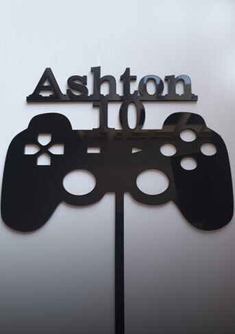 Play station control topper