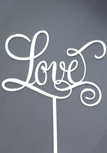 Love topper