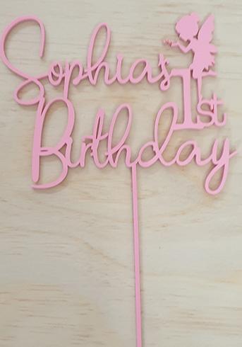 1st birthday topper