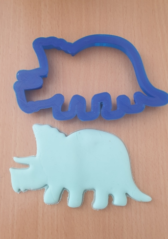 3D printed dinosaur cutter