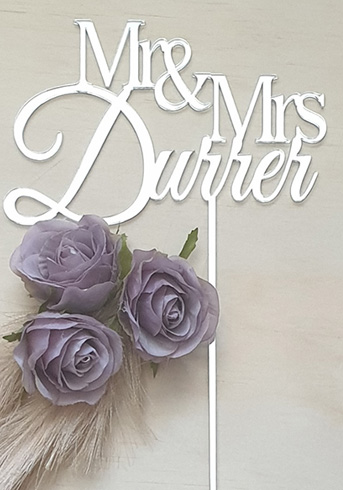 Mr and Mrs Durrer