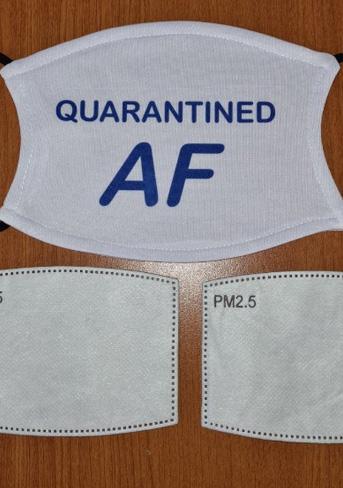 Quarantined face mask