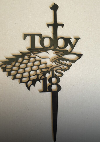 Game of thrones topper